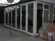 Фото пристройки из пластиковых окон Запорожье-7