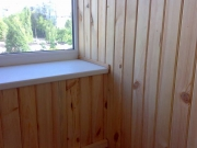 балкон обшивают деревянной вагонкой-91_thumb