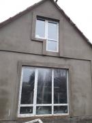 Установка пластиковых окон Steko и входной металлической двери в доме