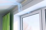 Микропроветривание в пластиковых окнах